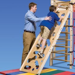 In-FUN-ity Cutout Climbing Wall
