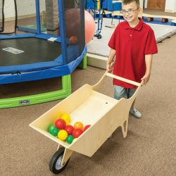 1-Wheel Weighted Wheelbarrow