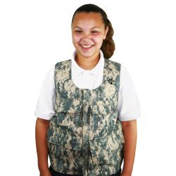 Large Camouflage Weighted Vest