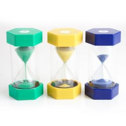 Large Sand Timer (Set of 3)