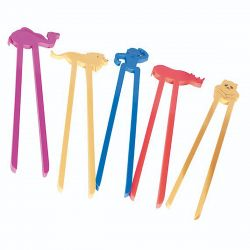 Animal Sticks - Zoo (Set of 6)