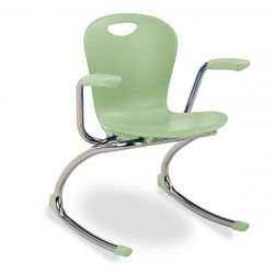Small Zuma Rocker with Arms - Green