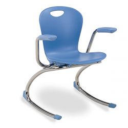 Small Zuma Rocker with Arms - Blue