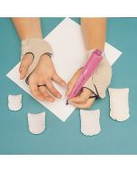 Medium Weighted Hand Patches